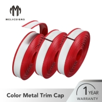 Buy cheap F Shape Flexible Color Steel Metal Trim Cap Channel Letter Materials from wholesalers