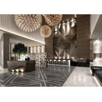 Cheap Contemporary Hotel Lobby Furniture Fabric Barstool With Bar Counter wholesale