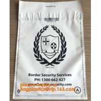 Cheap Custom Printed Mailing Bags , Eco Friendly Mailing Bags Money Locking Security wholesale