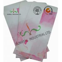 Cheap Normal Finising Ordinary Paper Custom Printed Envelopes 4 Colors Peach Flowers wholesale