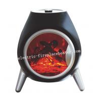 Cheap Luxury Floor Standing Electralog Portable Electric Fireplace Stove For Home / Office wholesale