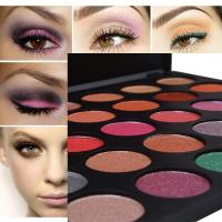 Cheap Private Label Eyeshadow Palette With 35 Foiled Colors , Eye Makeup Eyeshadow wholesale