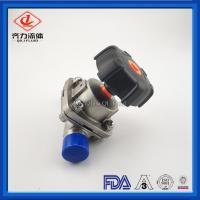 Cheap SS 316L Straight Hygienic Diaphragm Valve For Pharmaceutical Industry wholesale