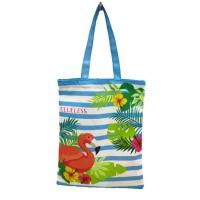 Cheap Cotton Tote Canvas Reusable Eco Bags Shopping Handle Large Recycled Beach Grocery Tote wholesale