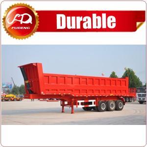 Cheap China cheap 3 axle tractor hydraulic dump trailer/Tipper Dumper Truck on sale wholesale