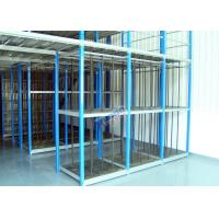 Customized Supply Chain Auto Parts Rack , Durable 4S Warehouse Storage Racks