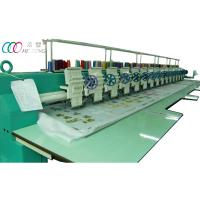 Cheap 15 head single sequin computerized flat embroidery machine for clothing Robes wholesale