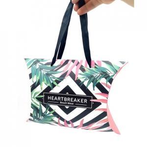 Cheap Custom Virgin Hair Packaging Pillow Box Packaging For Hair/fashion Cardboard Wig Box wholesale
