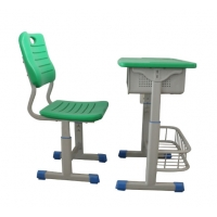 Buy cheap Single Table Student Desk And Chair Steel Furniture School Furniture For Student from wholesalers