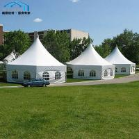 Cheap Strong Aluminum Octagonal Party Tent PVC Cover Grass Anchors Lining wholesale