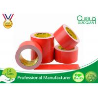 China Red Cloth Duct Tape with Strong Adhesion 50 Mesh Polyethylene Material on sale