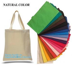 Cheap Promotional Reusable Eco Bags Handle Shopping Canvas Cotton Tote wholesale