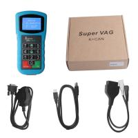 Cheap Super VAG K+CAN Plus 2.0 VAG Diagnostic Tool USB Auto Code Reader English / Spanish wholesale