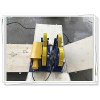 Buy cheap CE / ISO PU Coated Bolt Adjustable Light Duty 1000kg Pipe Rotators For Welding from wholesalers