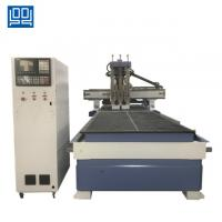 Cheap Taiwan syntec control system Double work table CNC Woodworking router machine wholesale