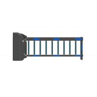 Buy cheap Turbo Worm Reducer IP44 30m Remote Fencing Gate Barrier from wholesalers