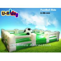 Cheap Three Automatic Speed Inflatable Gladiator Game Football Shape 12 Months Warranty wholesale