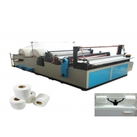 China Small Home Business Toilet Paper Rewinding Machine on sale
