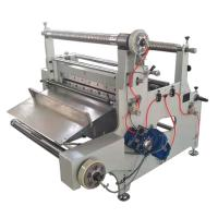China automatic roll to sheet cutting machine with laminating function on sale