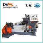 Cheap Single / Double Screw Plastic Pellet Making Machine For PVC Cable / Wire Materials wholesale
