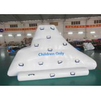 Cheap Climbing And Sliding Iceberg With Handels For Inflatable Water Games wholesale