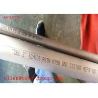 Cheap 21.34mm Ferritic Stainless Steel Seamless Pipe A268 Bearing Machinning wholesale