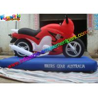 Cheap Customized Advertising Inflatables Motorcycle Replica , Inflatable Motorbike Model wholesale