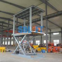 Buy cheap 6T 3M 2 Level Hydraulic Garage Parking Car Lift Mechanical Parking System from wholesalers