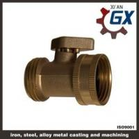 Cheap Cast NPT Full Port Private Label on Handle Brass Ball Valve for Gas wholesale