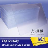 Cheap PLASTIC LENTICULAR 15 LPI lenticular lenses animation 3d lenticular material suppliers lenticular sheets for sale wholesale