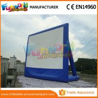 Cheap Portable Inflatable Backyard Movie Screen Outdoor Games Inflatable Billboards wholesale