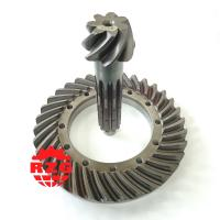 China 20CrMnTi Skew Hypoid Hypoid Spiral Bevel Gears Ratio 7*34 Transmission System on sale