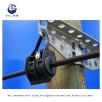 Cheap 6mm 2KN Standard HDG Steel ADSS Suspension Clamp wholesale