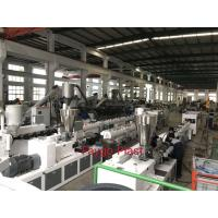 Cheap Conical Double Screw Extruder , Plastic Extrusion Machine For PVC Material Product wholesale