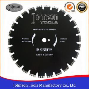 Cheap Customized Diamond Asphalt Cutting Blades Wide U Slot Type Easy Operation wholesale