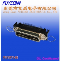 Cheap 14 Pin Centronic PCB Right Angle Female Connector Certified UL wholesale