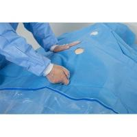 Cheap Uroligical  TUR Fenestrated Surgical Drapes Clear PE Film Pouch Finger Cot wholesale