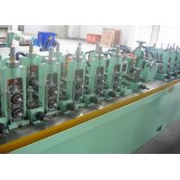 Cheap Straight Seam Welded Tube Mill Line 7 - 18 mm OD , Carbon Steel Pipe Mill Production Line wholesale