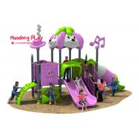 Cheap Disneyland Series Outdoor Playground Slides , Plastic Children's Outdoor Playground Equipment wholesale