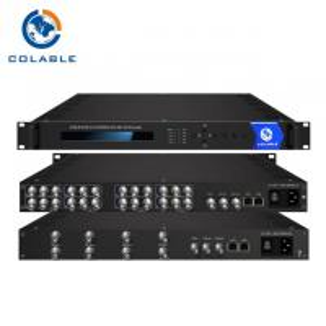 Cheap 8 Channels AV To IP Video Encoder , MPEG - 2 MPEG - 4 H 264 Encoder COL5181E wholesale
