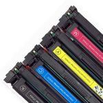 Cheap 202A CF500A Printer Toner Cartridge Compatible For HP Color Lasejet Pro M254 M280 M281 wholesale