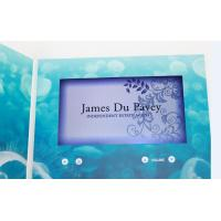 Cheap custom Multi - page handmade lcd video greeting card for fair display wholesale