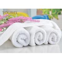 Cheap Luxury 21S/2 Cotton Terry Hotel Hand Towels Plain Design for Gym wholesale