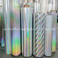 Cheap Different pattrn PET & BOPP Holographic Metallized and Transparent Lamination Film for paper board wholesale