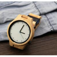 Cheap Popular Handmade Wooden Wrist Watch with Japanese Movement , custom your own logo wholesale