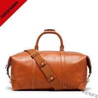 Cheap Brown Leather Duffel Bag For Clothes wholesale