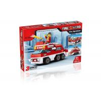 Cheap Mini Fire Rescue DIY Building Blocks Educational Toys Convertable 3 Styles 220Pcs wholesale