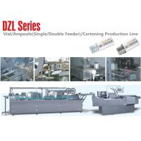 Cheap Ampoul  Blister Packaging  Line Cartoning Packing line , Single or Double Feeder wholesale