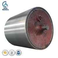 Cheap Mills Spare Parts Rotary Yankee Dryer Cylinder Cast Iron Paper Machine Dryer Cylinder wholesale