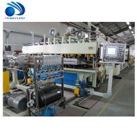 Cheap Spiral Feeding Plastic Board / TPE Sheet Extrusion Line 380V 50Hz CE wholesale